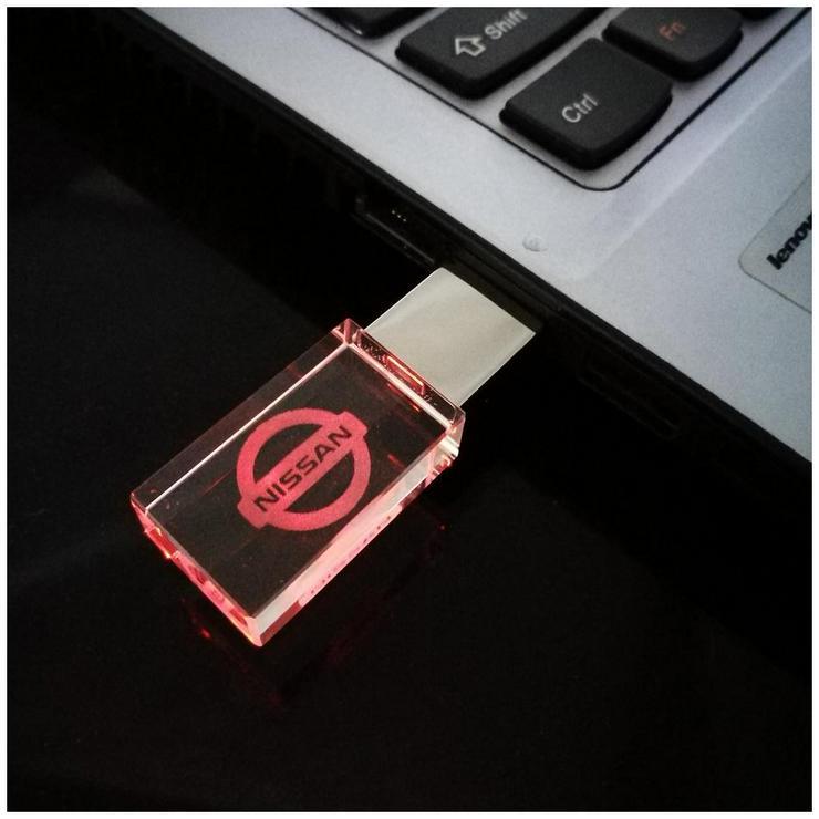 USB-STICK Auto-Logo in Rotem LED-Licht USB 2.0 8GB bis 64GB *NEU* - USB-Sticks - Bild 3