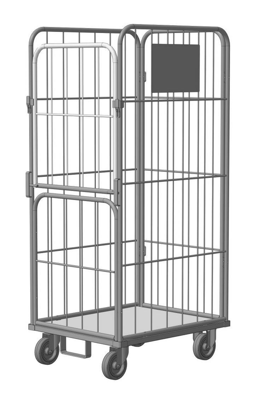 Rollcontainer für Wäschelogistik. Modell SL 6072-1,53