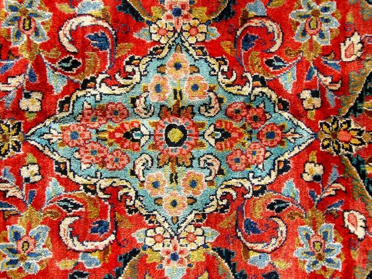 Bild 3: Orientteppich Saruk-Mahal von ca. 1900 (T082)