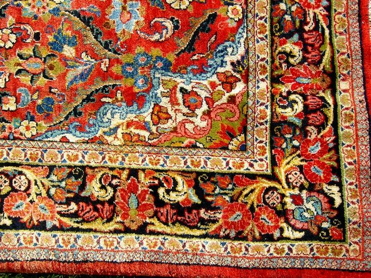 Bild 5: Orientteppich Saruk-Mahal von ca. 1900 (T082)