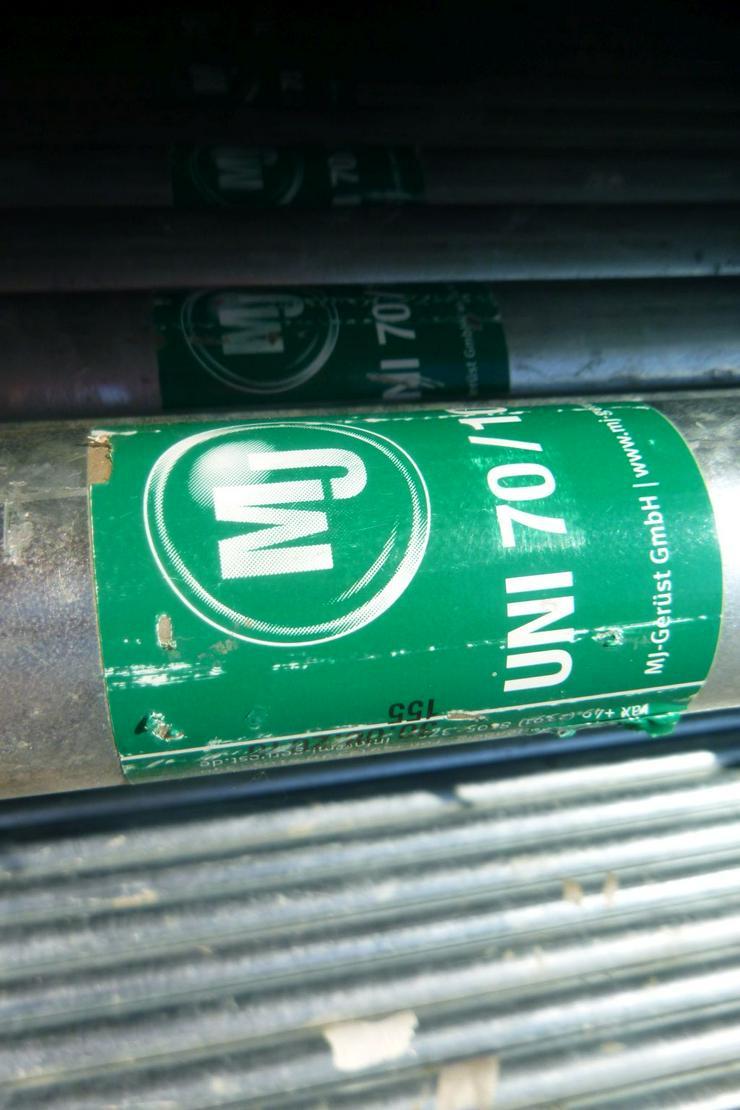 Bild 2: 510m² MJ Gerüst Uni 70 Wandgerüst Fassadengerüst Baugerüst top Zustand und Plettac kompatibel
