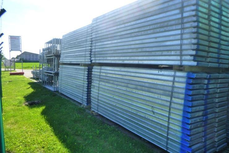 Bild 6: 510m² MJ Gerüst Uni 70 Wandgerüst Fassadengerüst Baugerüst top Zustand und Plettac kompatibel