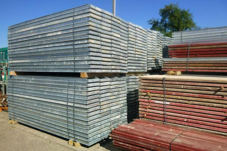 510m² MJ Gerüst Uni 70 Wandgerüst Fassadengerüst Baugerüst top Zustand und Plettac kompatibel - Weitere - Bild 1