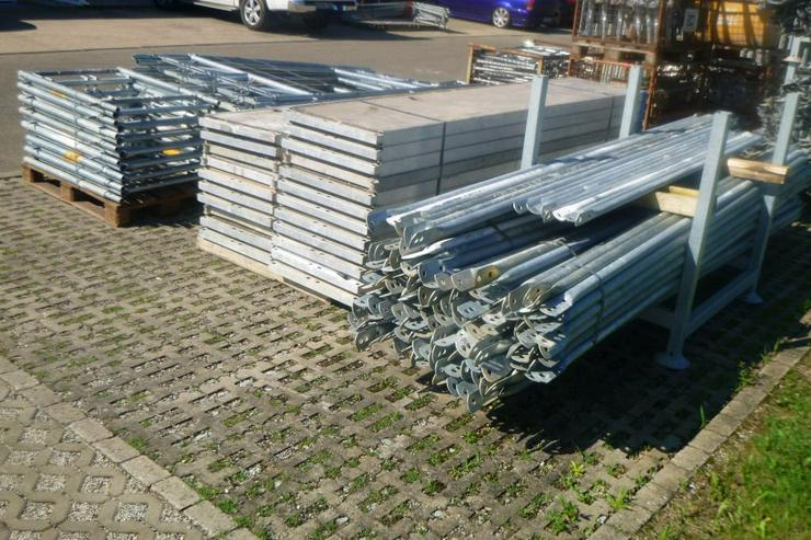 Bild 3: 510m² MJ Gerüst Uni 70 Wandgerüst Fassadengerüst Baugerüst top Zustand und Plettac kompatibel