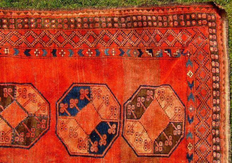 Bild 4: Orientteppich Ersari-Beschir 18/19Jhdt. (T083)