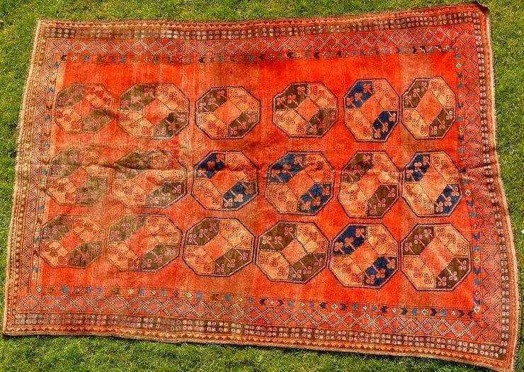 Orientteppich Ersari-Beschir 18/19Jhdt. (T083) - Fliesen & Teppiche - Bild 1