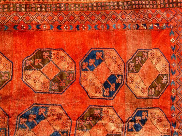 Bild 6: Orientteppich Ersari-Beschir 18/19Jhdt. (T083)