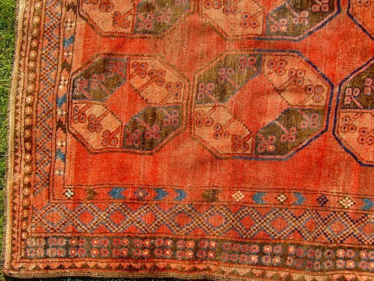 Bild 3: Orientteppich Ersari-Beschir 18/19Jhdt. (T083)