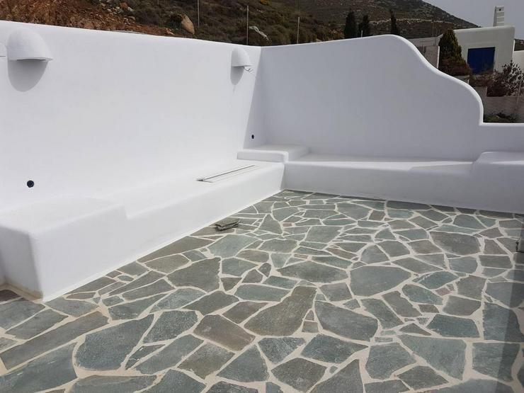 Naturstein Polygonalplatten, Riemchen, Mauer- Verblender - Pflastersteine - Bild 1
