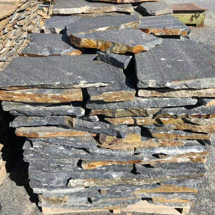 Bild 3: Naturstein Polygonalplatten, Riemchen, Mauer- Verblender