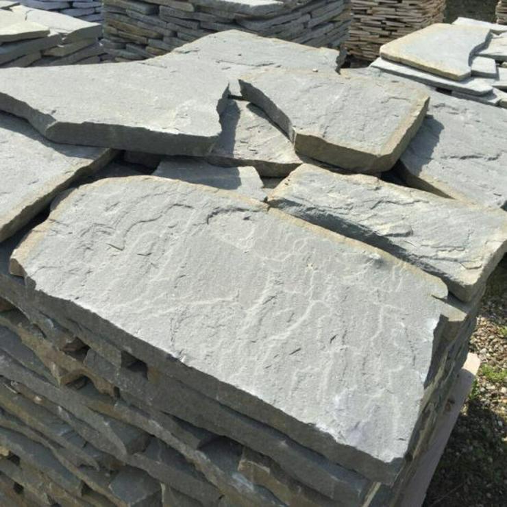 Bild 5: Naturstein Polygonalplatten, Riemchen, Mauer- Verblender