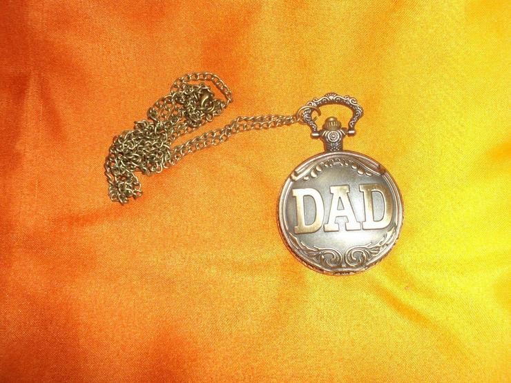 Bild 3: THU-09 Taschenuhr Sprungdeckeluhr Herrenuhr Uhr Pocket Watch DAD Uhr Bronze