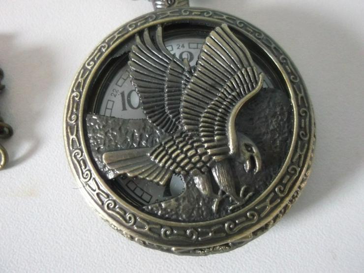Bild 2: THU-12 Taschenuhr Sprungdeckeluhr Herrenuhr Uhr Pocket Watch Adler Eagle