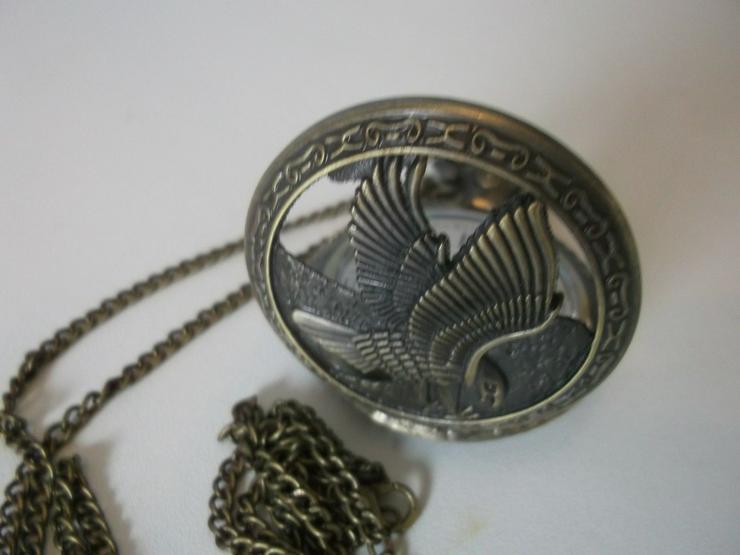 Bild 3: THU-12 Taschenuhr Sprungdeckeluhr Herrenuhr Uhr Pocket Watch Adler Eagle