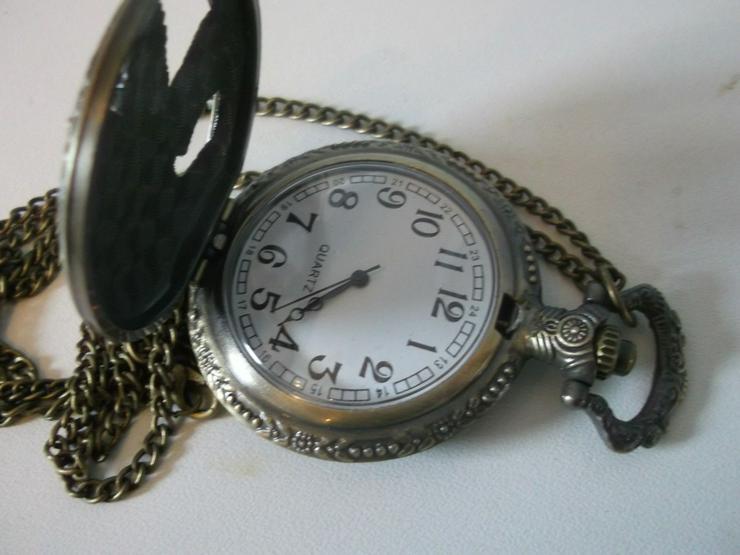 Bild 4: THU-12 Taschenuhr Sprungdeckeluhr Herrenuhr Uhr Pocket Watch Adler Eagle