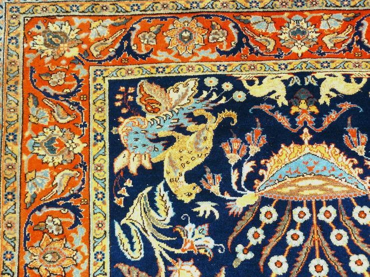 Bild 4: Orientteppich Teheran um 1900, 205x132 TOP (T085)