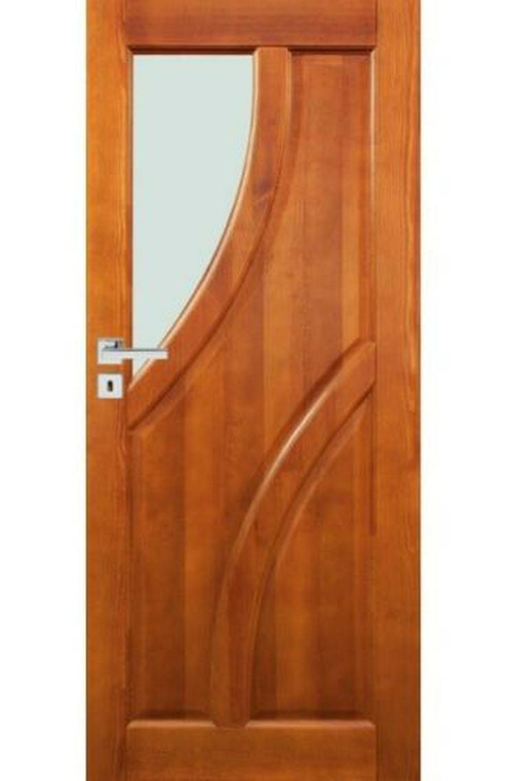 Bild 3: Ungefälzte Holzüren Bogota Stolgen Premium Klinke Zarge lackiert 60-90 Innentür