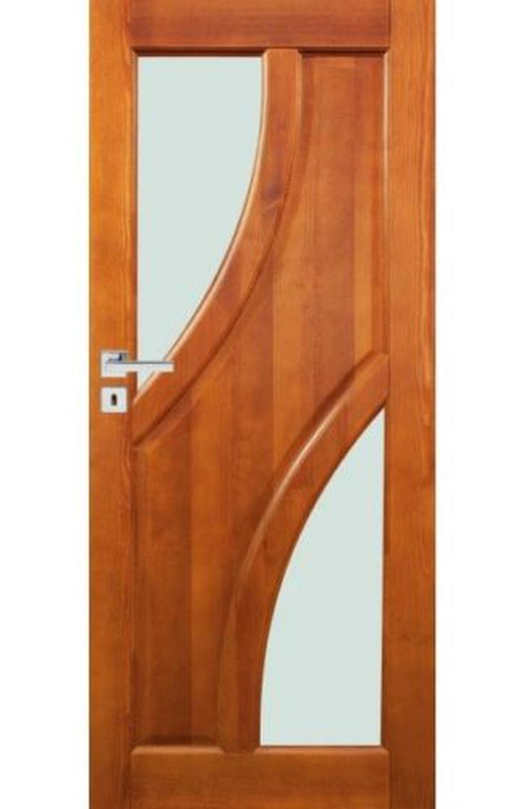 Bild 4: Ungefälzte Holzüren Bogota Stolgen Premium Klinke Zarge lackiert 60-90 Innentür
