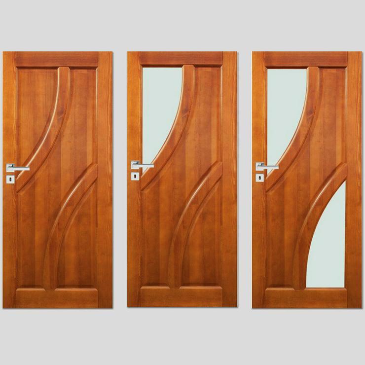 Ungefälzte Holzüren Bogota Stolgen Premium Klinke Zarge lackiert 60-90 Innentür  - Türen - Bild 1