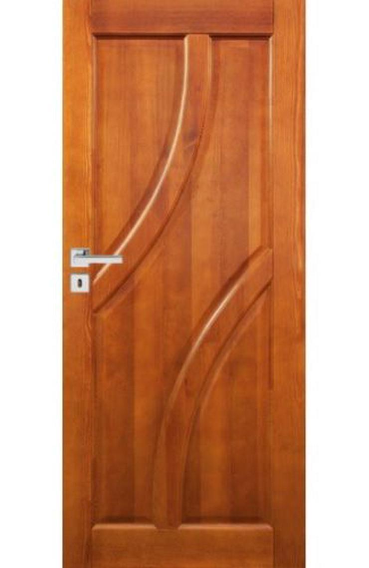 Bild 2: Ungefälzte Holzüren Bogota Stolgen Premium Klinke Zarge lackiert 60-90 Innentür