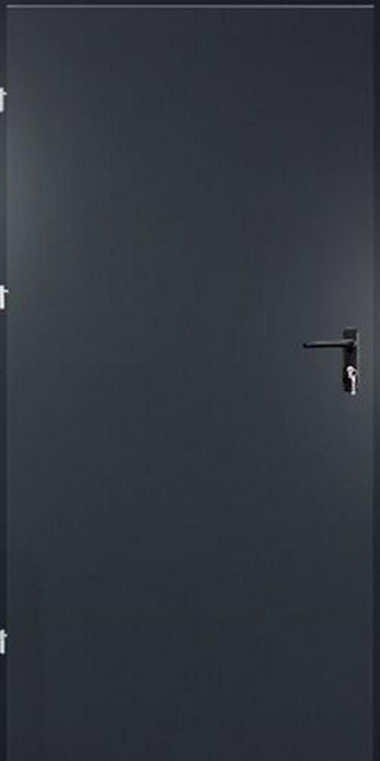 Bild 4: Tür Technische FERUM Eingangstür mit ohne Verglassung Scheibe 80 90 4 Farben