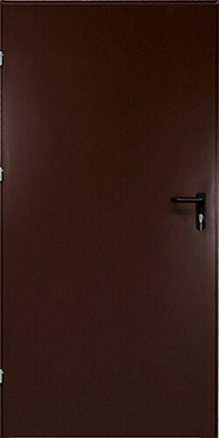 Bild 5: Tür Technische FERUM Eingangstür mit ohne Verglassung Scheibe 80 90 4 Farben