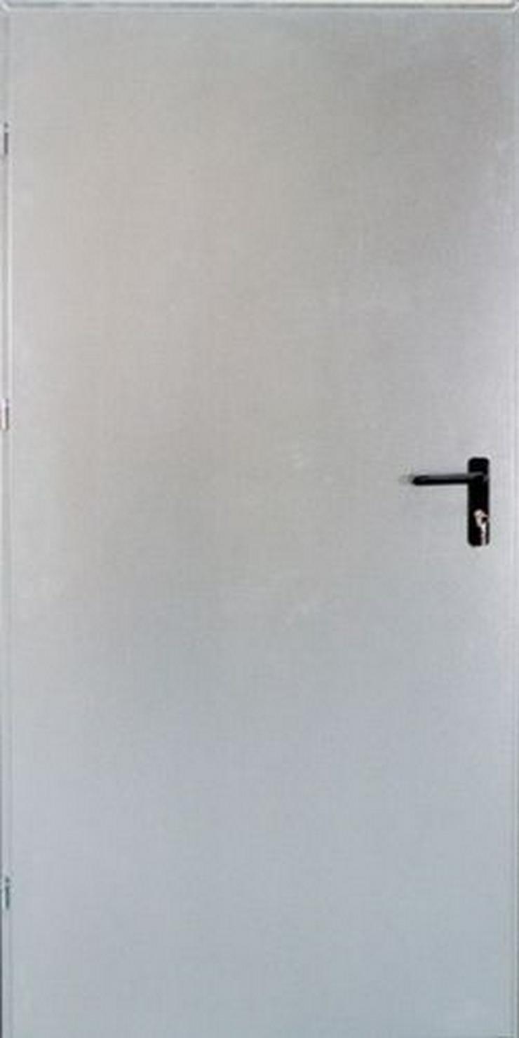 Bild 2: Tür Technische FERUM Eingangstür mit ohne Verglassung Scheibe 80 90 4 Farben