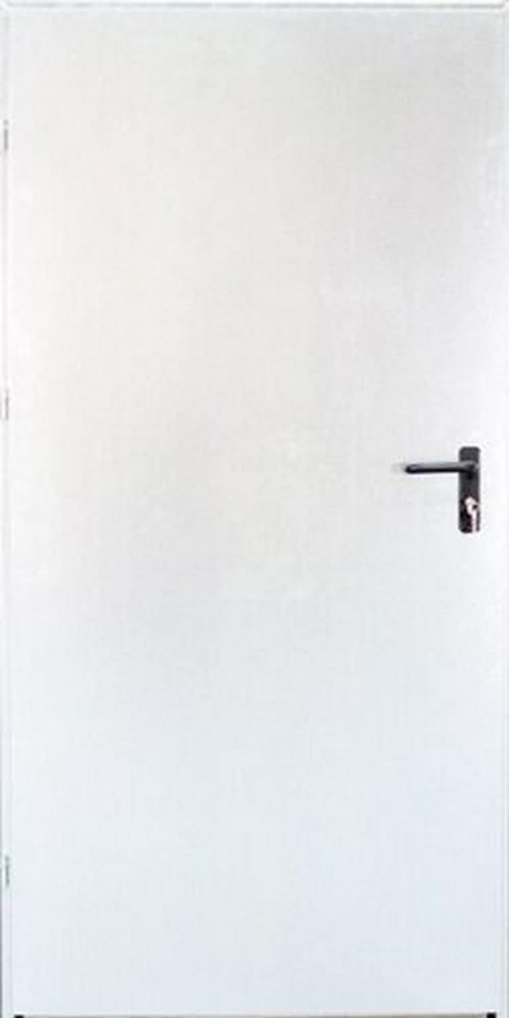 Bild 3: Tür Technische FERUM Eingangstür mit ohne Verglassung Scheibe 80 90 4 Farben