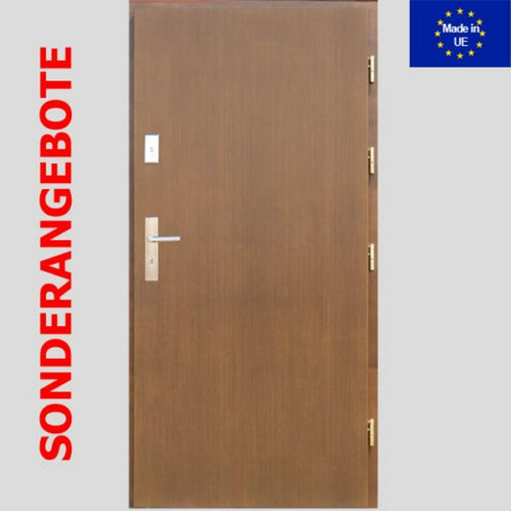 Tür STAN DEPRAL Haustür Holz Eiche Kiefer Meranti Eingangstür 80/90cm 9 Farben  - Türen - Bild 1