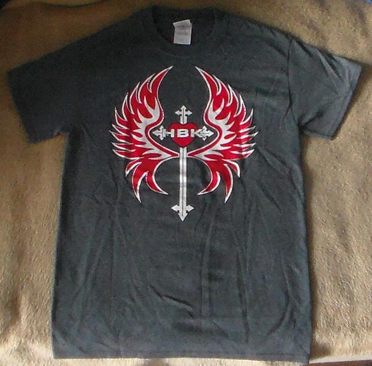 Shawn Michaels HBK Rise Above T-shirt Größe S Merchandise WWE Wrestling Wrestler