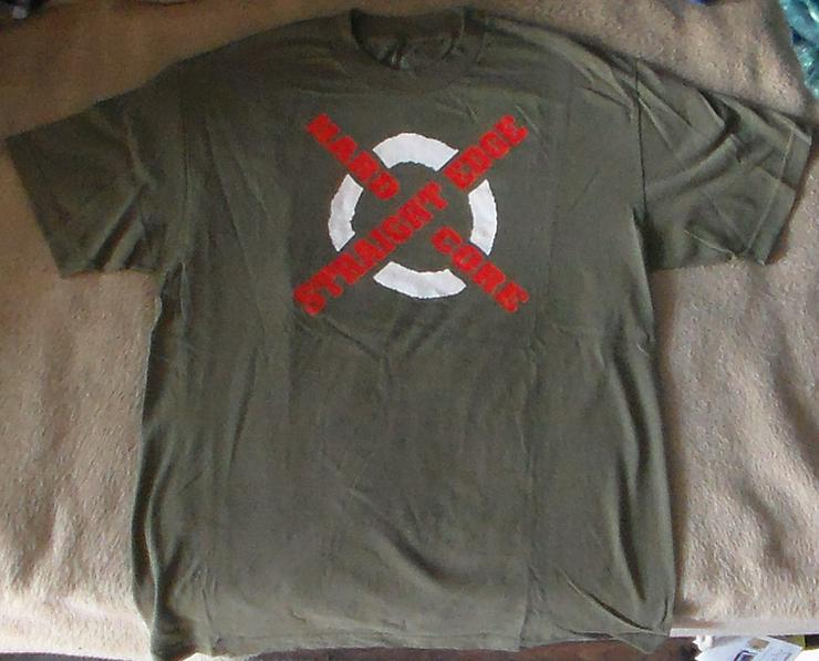 T-Shirt CM Punk Straight Edge Hardcore Retro WWE Merchandise Wrestling Wrestler