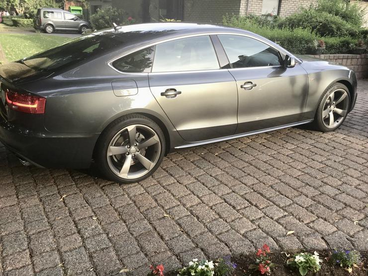 A5 Sportback 1.8 TFSI S-Line 5 Sitzer Navi Xenon Leder 19Zoll Alu, Audi Garantie Sportpaket Himmel schwarz  Tempomat