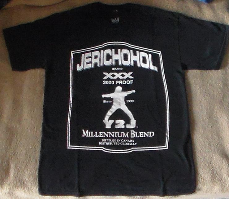 T-Shirt Chris Jericho Jerichohol Retro T-shirt Wrestling Wrestler
