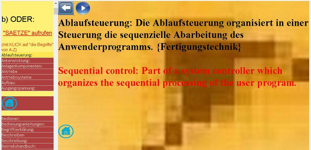 deutsche Technik-Sprache uebersetzen
