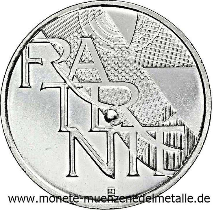 Bild 3: Frankreich 3 Stück 5 Euro Liberte Egalite Fraternite 2013 Silber Münze