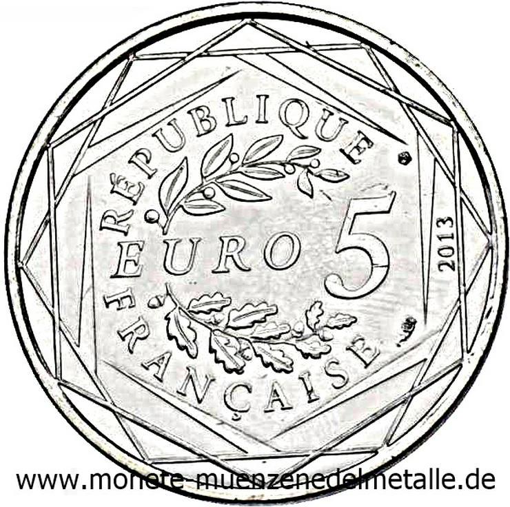 Bild 4: Frankreich 3 Stück 5 Euro Liberte Egalite Fraternite 2013 Silber Münze