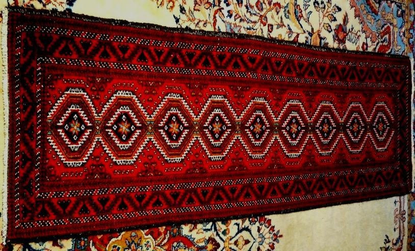 Orientteppich Belutsch alt 190x64 (T092)