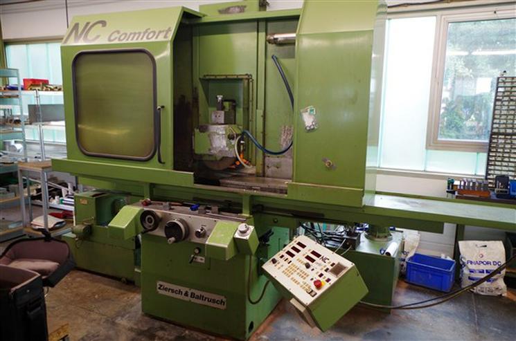 Flachschleifmaschine Ziersch & Baltrusch NC Formmaster 6/30