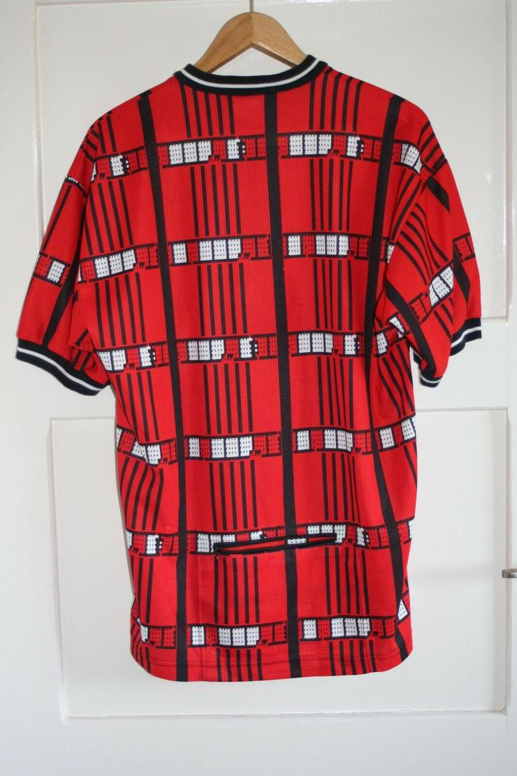 Bild 4: Vintage Löffler bike trikot rot Rad shirt jersey XL retro 56 Fahrrad 80er 90er