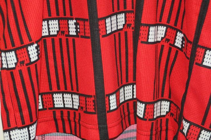 Bild 3: Vintage Löffler bike trikot rot Rad shirt jersey XL retro 56 Fahrrad 80er 90er