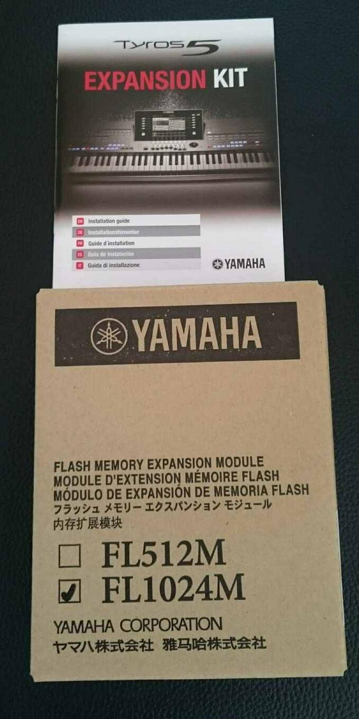 Bild 4: Keyboard Workstation Yamaha Tyros 5, 76 Tasten + Zubehör