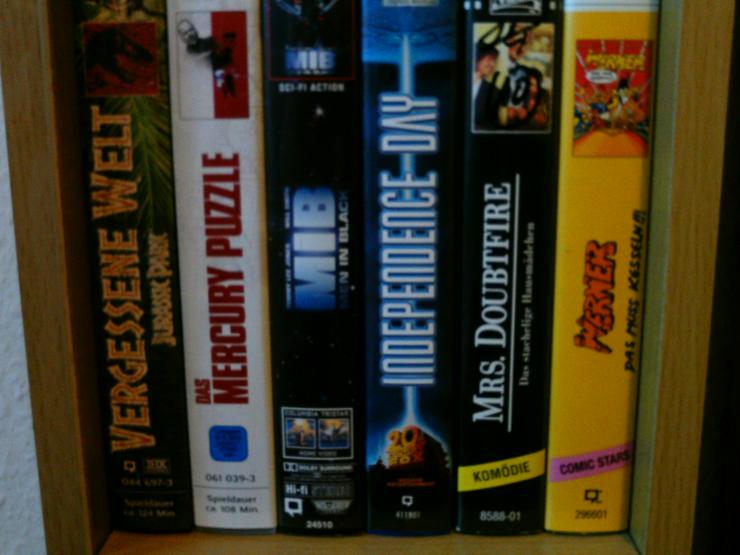 Bild 2: 20 VHS Video Kassetten + 6 VHS Spielfilme