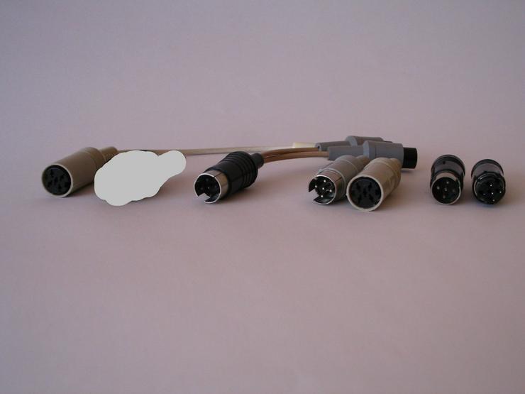 5-polige Würfel-Stecker, -Buchse, -Adapter - Kabel & Stecker - Bild 1