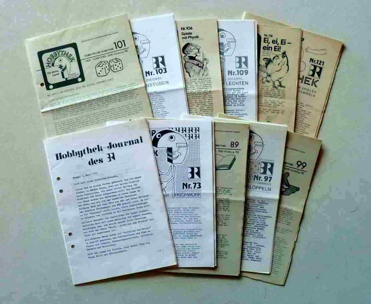 11 Hobbythek Hefte Jahrgang 1981 - 1985