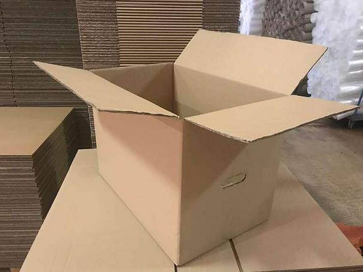 Umzugskartons 57cm x 35x 40cm, 48Liter, bis 45kg, Qualität Wellpappe 2 zu verkaufen! - Weitere - Bild 1