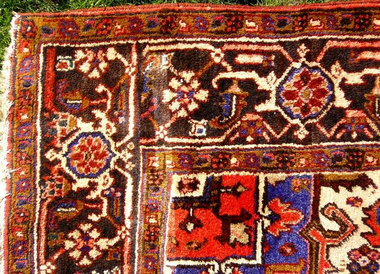 Bild 3: Orientteppich Heriz antik 348x235 (T095)