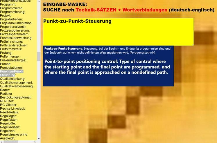 Bild 4: Azubis lernen englische Wortschatz-Uebersetzungen:  Metallbau- und Fertigungstechnik