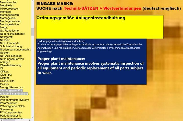 Bild 2: Azubis lernen englische Wortschatz-Uebersetzungen:  Metallbau- und Fertigungstechnik