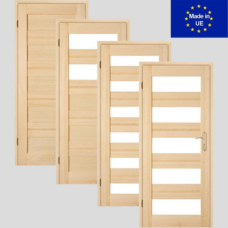 Holztür Schiebetür Zimmertür Innentür Marokko 60/70/80/90cm Holz 204cm Höhe  - Türen - Bild 1