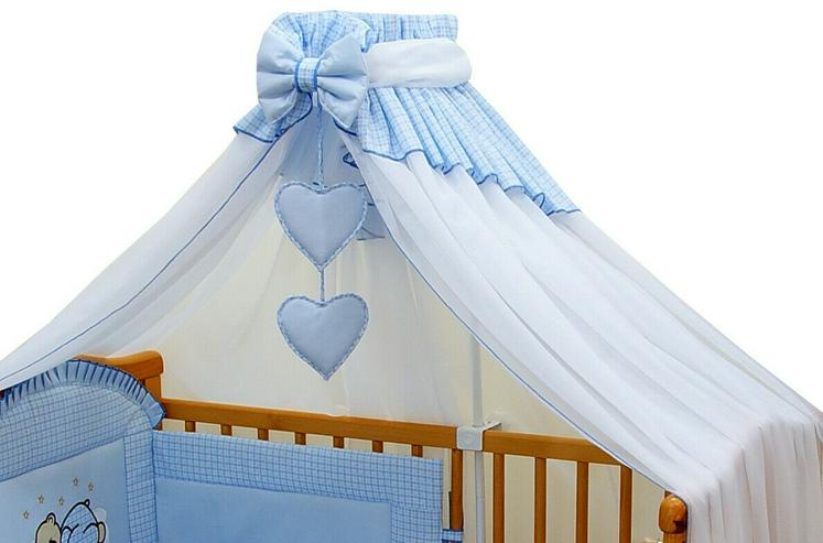 Bild 2: Betthimmel Breite 300cm + Stellage Babyzimmer Bettausstattung Bettset 3 Farben
